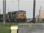 CSX train sitting in Yeoman yard